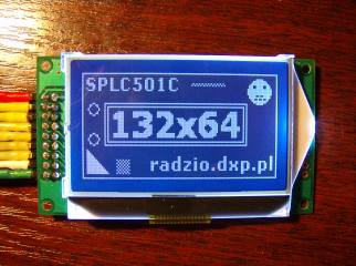 Universal C library for SED1530/SPLC501C graphic LCD